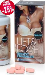 Lift & Love -rintojen kohotusvalmiste, 90 tablettia