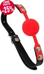 Silikoni-suupallo, punainen
